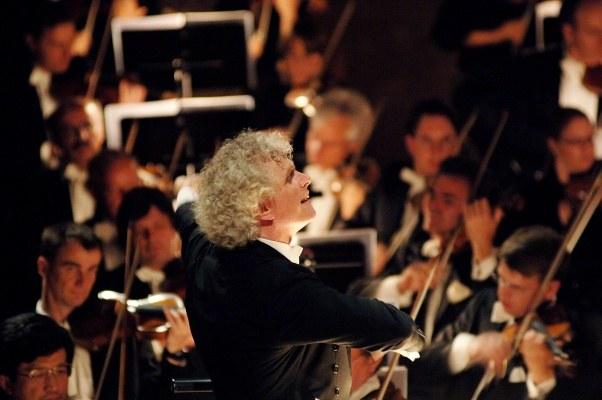 Berliner Philharmonie: Sir Simon Rattle und Magdalena Kožená   - Bild 4