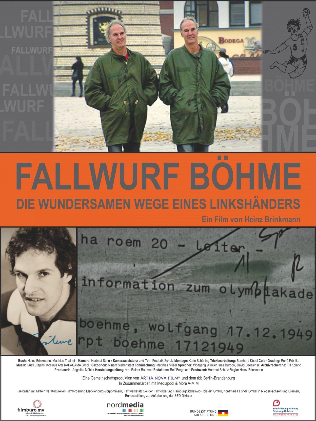 Fallwurf Böhme - Das wundersame Leben des Wolfgang Böhme - Bild 1