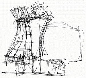 Sketches of Frank Gehry - Bild 2