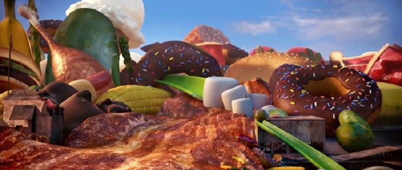 Wolkig mit Aussicht auf Fleischbällchen 3D - Bild 10