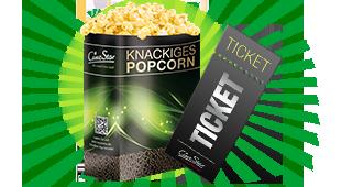 Popcorn Kino für 9,90€:
