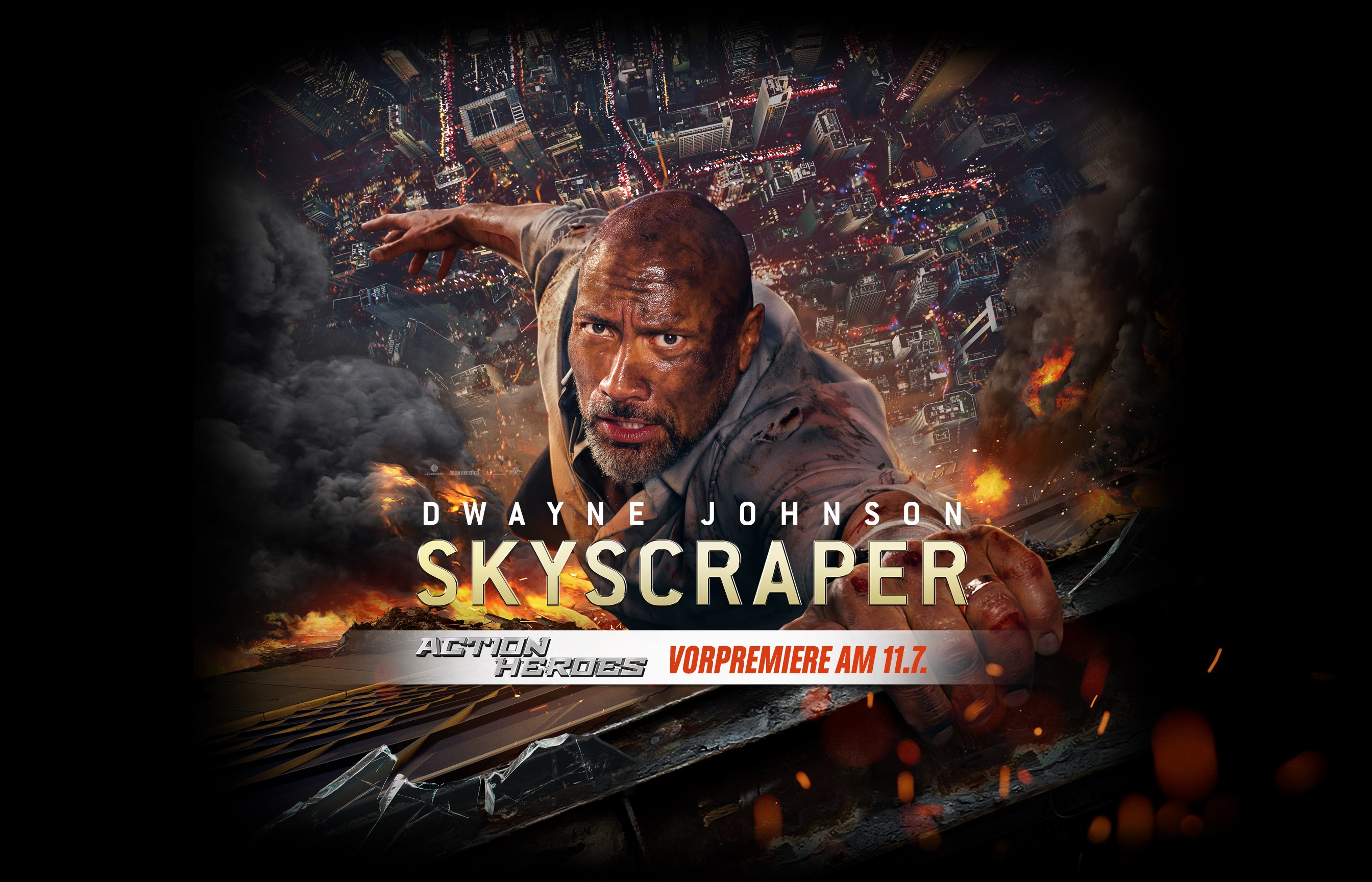 "Blockbuster Preview: ""Skyscraper 3D"" 